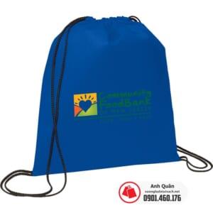 Túi vải không dệt dây rút Community-FoodBank