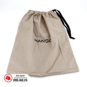 Túi rút vải bố canvas 1 dây Mango