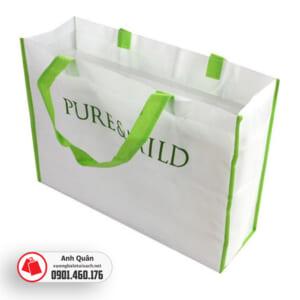 Túi vải không dệt dạng hộp ngang Pure&Wild