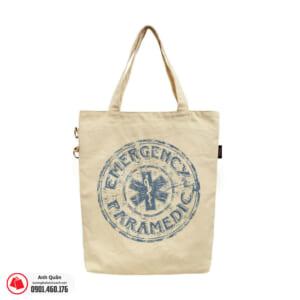 Túi vải bố in chuyển nhiệt Emergency-Paramedic