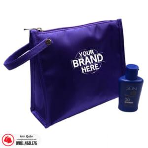 Túi đựng mỹ phẩm in logo