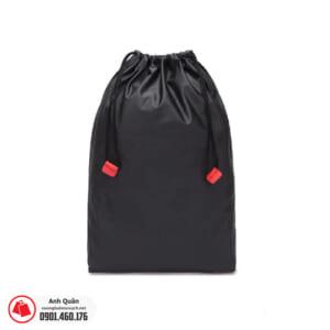 Túi rút vải dù 2 bên màu đen