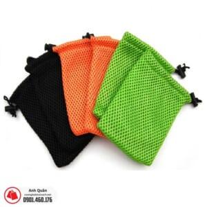 Túi rút mini vải lưới đựng phụ kiện
