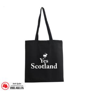 Túi vải bố in lụa Yes-scotland