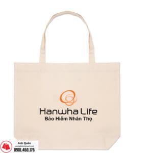 Túi vải bố BHNT-Hanwha-life