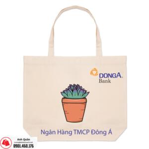 Túi vải bố Đông-Á-Bank