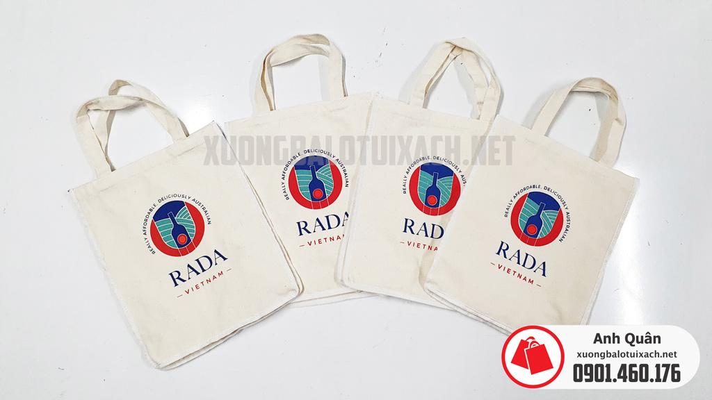 Đặt mua túi vải bố - RADA