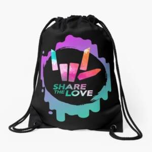 Túi rút in chuyển nhiệt Share the love