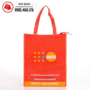 Túi vải không dệt cán màng UNFPA