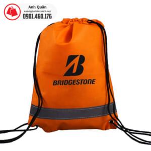 Túi vải không dệt dây rút Bridge Stone