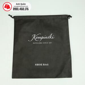 Túi vải không dệt đựng giày Kempinski